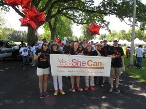 Yes She Can walks for autism
