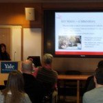 Sheri Baron presenting at Yale Autism Program