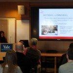 Sheri Baron presenting at Yale Autism Program