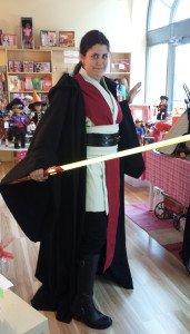 Dani as a Jedi