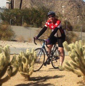 Allan on bike
