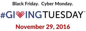 Join us on Giving Tuesday