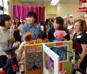 Japanese Delegation Visits Yes She Can Autism Program