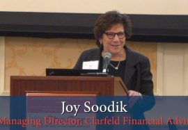 Joy Soodik receives Advocates for Adults with Autism Award